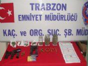 Trabzon'daki Çete Operasyonu'na 3 Tutuklama