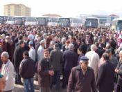 Aksaray'da 600 Kişi Umre İçin Kutsal Topraklara Uğurlandı