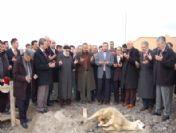 Aksaray Üniversitesi Camii'nin Temeli Törenle Atıldı