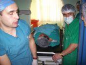 Bulanık Devlet Hastanesi'nde İlk Kapalı Ameliyat
