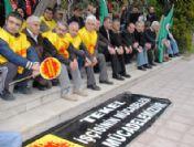 Burdur'da Tekel İsçilerine Destek Eylemi