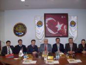 Doç. Dr. Öztürk, Vali Ve Tso Başkanını Ziyaret Etti