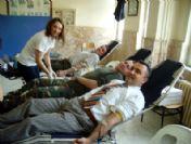 İbradı'da Kan Bağışı