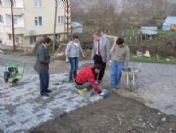 Özal Mahallesi'nde Çalışmalar Sürüyor