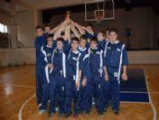 Yıldız Erkekler Basketbol Şampiyonası Ödül Töreni Yapıldı