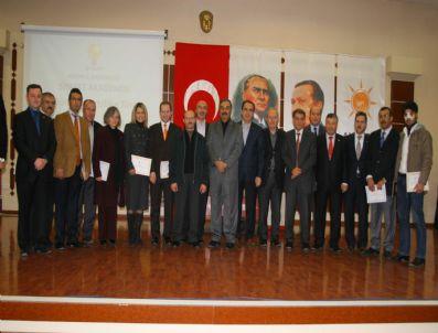 HASAN ANGı - Ak Parti Siyaset Akademisi Konya Ayağında Sertifika Töreni