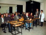 Burhaniye'de Öğretmenlere İlk Yardım Kursu