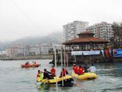 Denizde Rafting Şenliği