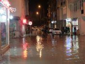 Fethiye'de Şiddetli Yağmur Etkili Oldu