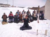 Kar Üstünde Dua Ederek Köye İmam İstediler