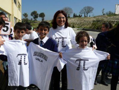 PI SAYıSı - 14 Mart Dünya Pi Günü Egiad İlköğretim Okulu'nda Kutlandı
