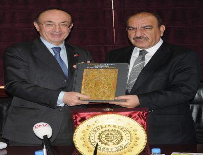 CARLO MARSILI - İtalya'nın Ankara Büyükelçisi Carlo Marsili, Gto'yu Ziyaret Etti