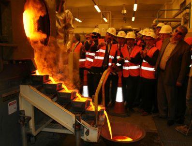 ZEKERIYA ASLAN - Tbmm Maden Araştırma Komisyonu Üyeleri Uşak'ta