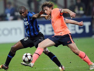 DEJAN STANKOVIC - Şampiyonlar Ligi İnter-Barcelona:1-3 maçı gollerini izle