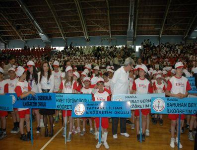 MESUT ESER - Manisa Valiliği '1.olimpik Çocuk Şenliği' Törenle Başladı