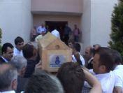 Küçük Efe'nin cenazesi son kez evine getirildi