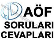 AÖF 2010 (Tüm Dersler PDF)-  2. Sınıf Sosyal Hizmetler - ÖSYM