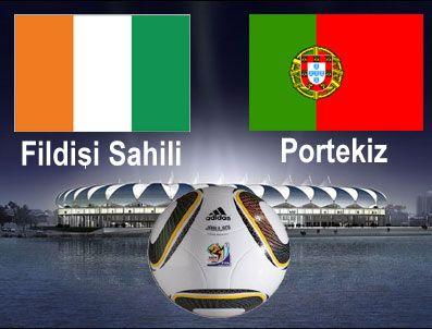 CARLOS QUEIROZ - Dünya Kupası E grubu ilk maçı Fildişi Sahili - Portekiz karşılaşması