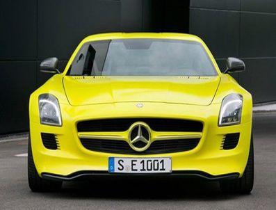 Mercedes'in 526 Beygirlik Elektrikli Rüyası!