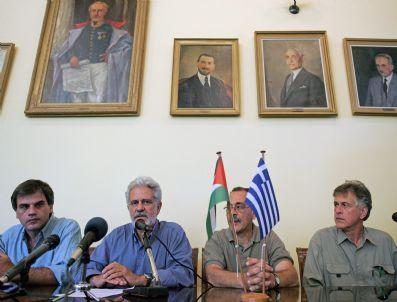 VANGELIS - Greece Pro-palestınıan Actıvısıts Press Conference
