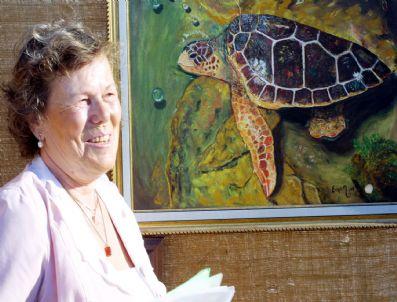KAPLUMBAĞA TERBIYECISI - Caretta Sevgisi Ressam Yaptı