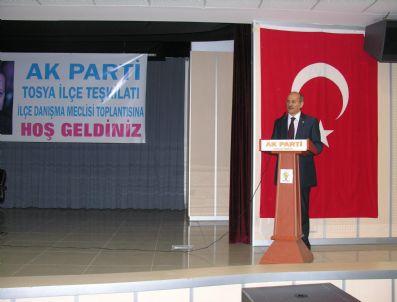 MEHMET NIL HıDıR - Ak Parti Tosya İlçe Meclis Danışma Toplantısı Yapıldı