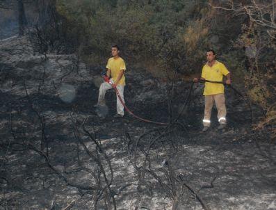 FARUK USLU - Turgutlu'da Orman Yangını