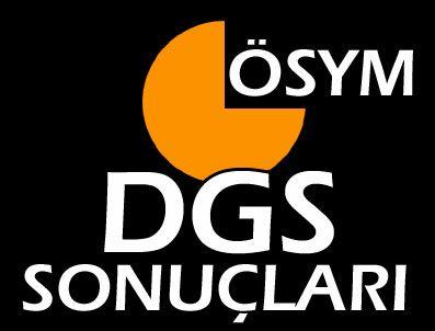 2013 DGS sonuçları açıklandı