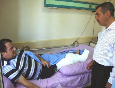 İHSAN KOCA - Malatya Milletvekili İhsan Koca'nın Hastane Ziyareti