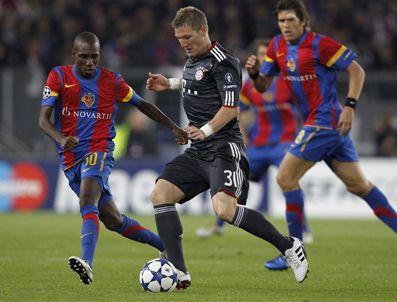 ALEXANDER FREİ - Bayern Münih deplasmanda Basel'i Schweinsteiger ile yıktı