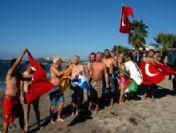 2011'in İlk Gününü Denizde Geçirdiler