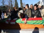Akyazı'da Vurulan Dört Kişi Toprağa Verildi