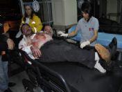 Alkollü Şahıs Kendini Bıçakladı