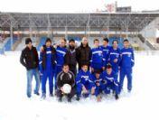 Amatör Futbol Ligi Maçına Kar Engeli