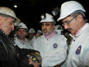Bakan Dinçer ve Bakan Yıldız maden ocağında