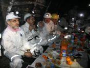 Bakan Yıldız Ve Dinçer Maden Ocağında İşçilerle Bir Araya Geldi