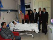 Didim Kaymakamından Hastaneye Yeni Yıl Ziyareti