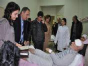 İl Sağlık Müdürü Kemik'ten Hastalara Yeni Yıl Ziyareti