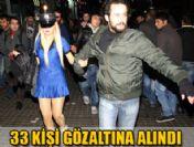 İstanbul'da 33 tacizci gözaltına alındı