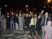 Kayserililer Yeni Yıla Sade Bir Kutlamayla Girdi