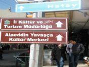 Kilis'te Levhalar Tehlike Saçıyor