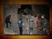 Bayburt'ta nişan evi çöktü: 32 yaralı