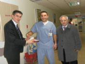 Sağlık-sen Yönetimi Yeni Yılı Hastanelerde Kutladı