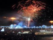 Taksim'den Büyüleyen Yılbaşı Manzaraları