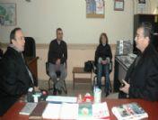 Vali Güvenç'ten İha'ya Kutlama Ziyareti