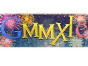 Yılınız Kutlu Olsun Yeni yıl SMS mesajları (Google özel logo)