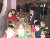Yozgat'ta Minikler Hayallerindeki Evi Sergiledi