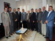 Gazilerden Ak Parti İl Başkanlığı'na Ziyaret