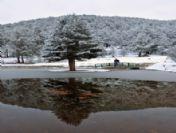 Gümüşhane Kent Ormanı 'Kar'la Daha Güzel