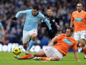 Manchester City: 1 - Blackpool: 0